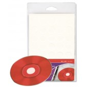 BOTON ADHESIVO CD/DVD BLANCO