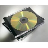 CAJA ARCHIVADOR CD/DVD FELLOWES SLIM COLORES STDOS P/25UD