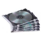 CAJA ARCHIVADOR CD/DVD FELLOWES DOBLE NEGRO P/5UD