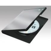ESTUCHE CD/DVD FELLOWES STANDARD NEGRO P/5UD